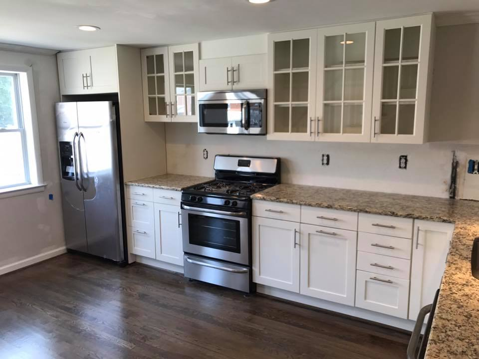 New Cabinets