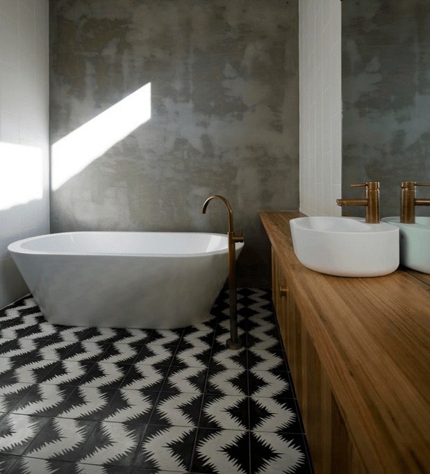 Bathroom Tile Ideas – There's a reason tile is frequently the material of option in the bathroom: it reflects light, it's sturdy, it's very easy to tidy as ...